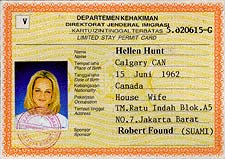 Visas and Documentation - Information on working documents for expatriates  in Indonesia