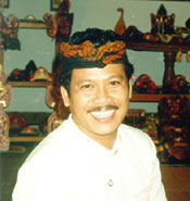 Smiling Indonesian man